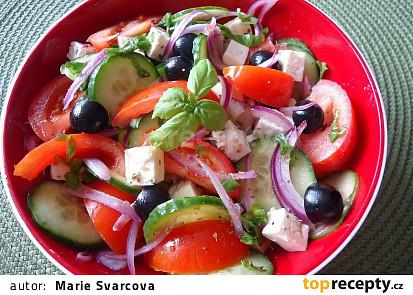 Tradiční řecký salát