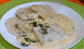 Rybí filé s rýžovými omeletkami
