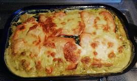 Zapečené gnocchi se sýry