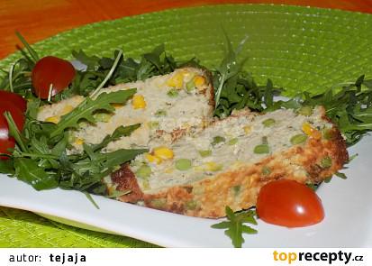 Zeleninovo-sójový nákyp