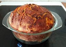 Domácí cibulový chleba