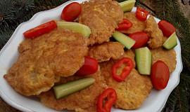 Králičí nebo kuřecí řízečky k obědu i na cesty