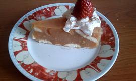 Nepečený jablečný dort s pudinkem