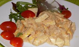 Tofu v arašídové omáčce