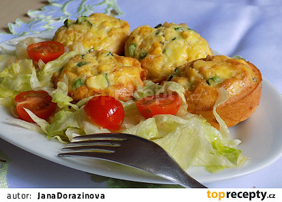 Zeleninové muffiny s rýžovou moukou