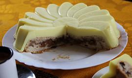 Jablečný koláč s pudinkem