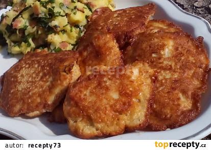 Kuřecí medailonky v sýrovém těstíčku