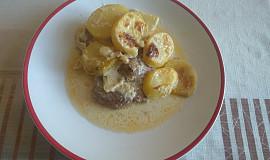 Námořnické brambory s krkovičkou