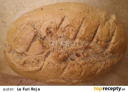 Škvarkový chléb do trouby