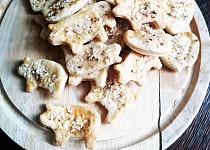 Slané máslové sušenky s brynzou