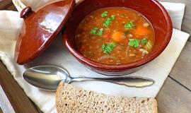 Bulharská čočková polévka