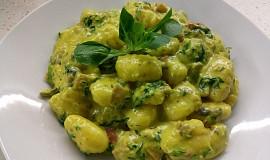 Gnocchi s listovým špenátem