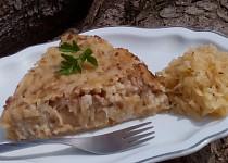 Mleté maso se zelím a rýží - zapékané
