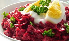 Ředkvičkovo-řepný salát