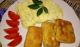 Uzené tofu plněné medvědím česnekem