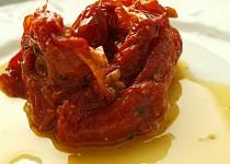 Sušená rajčata v olejové lázni