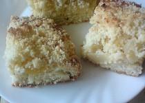 Mandlový drobenkový koláč s dýní