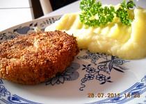 Cuketové karbanátky s gothajem a sýrem