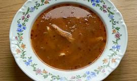 Mánkova rybí polévka na způsob dršťkové