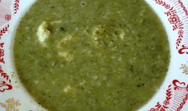 Mangoldová polévka krémová