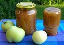 Džem z letních jablíček v DP