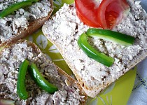 Sardinková pomazánka s tofu