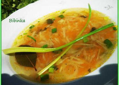 Velmi chutná celerová polévka s kuskusem