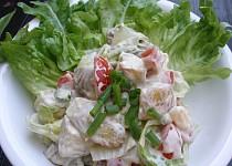 Salát z pečených brambor
