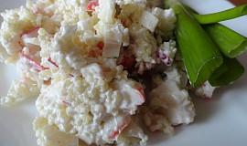 Krabí salát s kuskusem