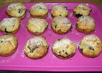 Hrníčkové borůvkové muffiny (bezlepkové)