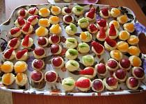 Ovocné mini košíčky