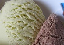Mátová zmrzlina