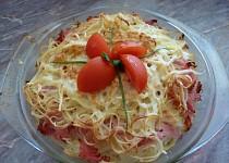 Špagetový nákyp