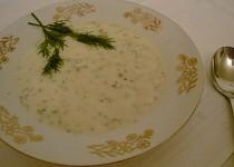 Kyšková polévka s koprem