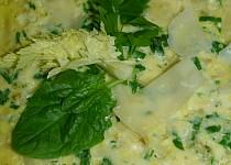 Omeleta s makarony