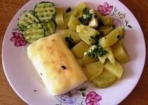 Plátek ze Šmakouna s česnekem a sýrem