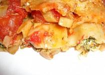Cannelloni plněné brokolicí v rajčatové omáčce