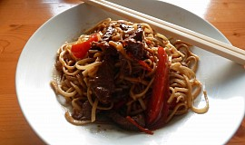 """Sladko-pálivá """"čína"""" z hovězího masa"""
