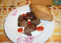 Maso z divočáka s česnekem