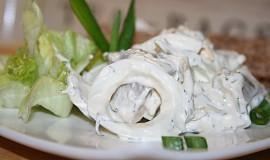 Švédský rybí salát
