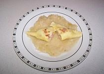Taštičky s uzeným masem a sýrem