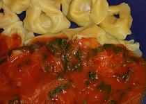 Červená omáčka s medvědím česnekem - k těstovinám