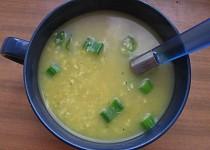 Kari polévka ze sojových bobů