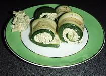Cuketky s avokádovou pastou