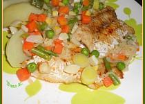 Rybí filé na zelenině