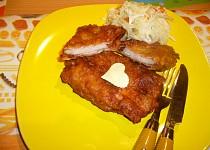 Tyrolský řízek s anglickou slaninou