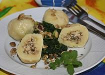 Hlívová náplň do bramborových knedlíků