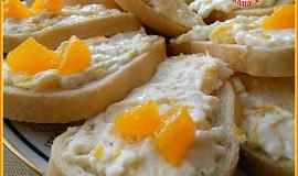 Pomerančové chlebíčky