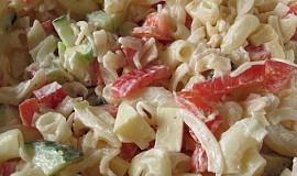 Jarní těstovinový salátek