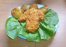 Kuřecí maso obalené v chipsech